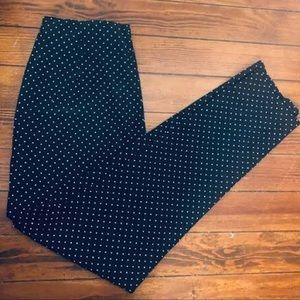 Polka Dot Cigarette Pants - Who What Wear